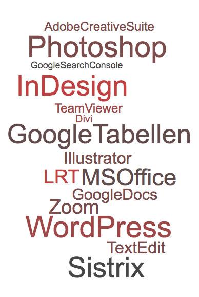 Meine Tools WordCloud